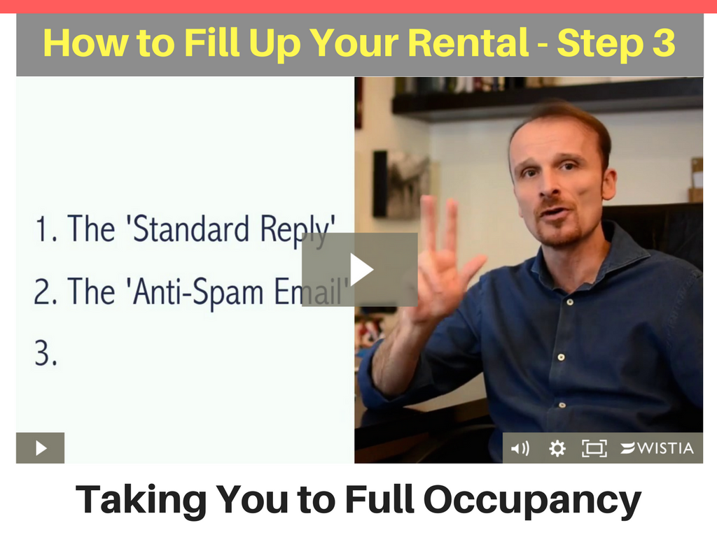 Taking You to Full Occupancy - Step 3