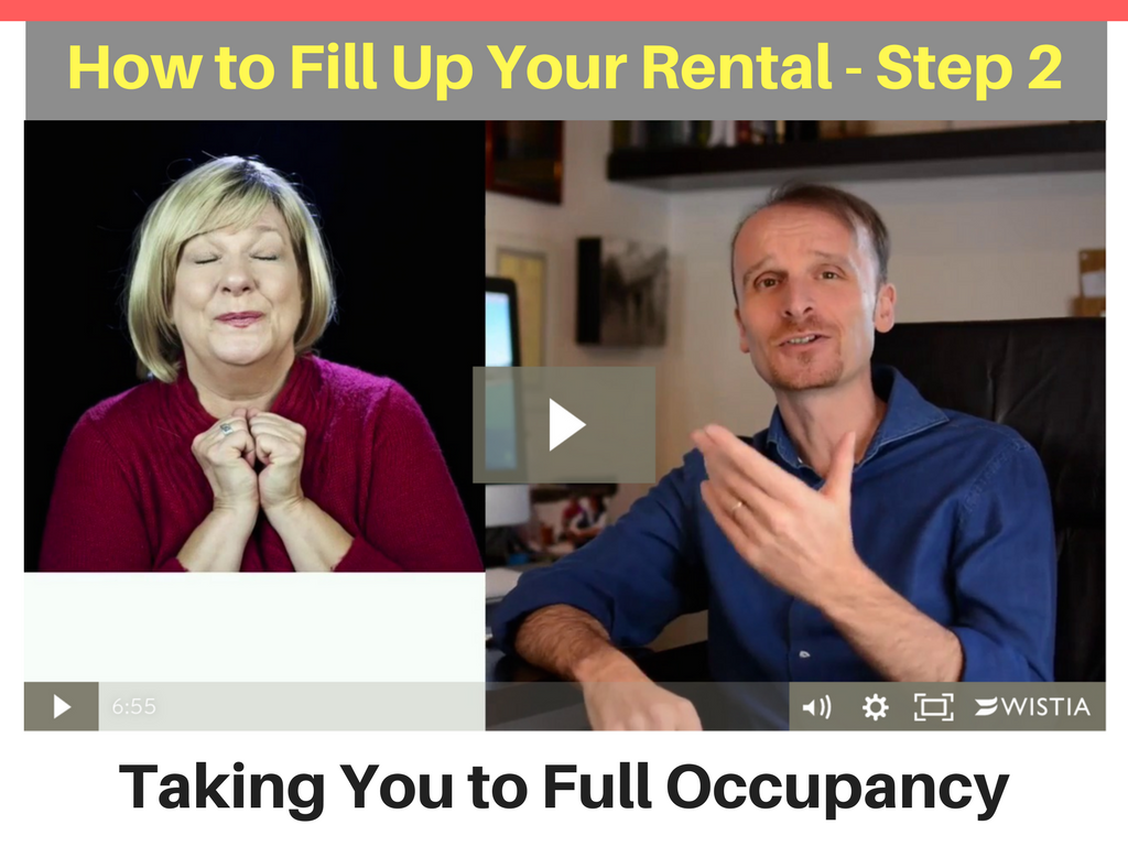 Taking You to Full Occupancy - Step 2
